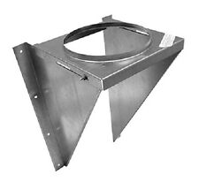 "Selkirk 206430 6"" 6T-WSK Wood Stove Chimney Pipe Wall Support Kit"