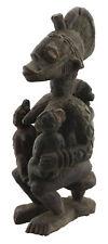 Ancienne Statue africaine Yoruba cultuelle maternité fertilité Yorouba 16631