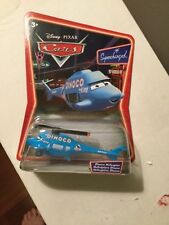 DISNEY PIXAR CARS DINOCO HELICOPTER SUPERCHARGED EXTREME RARE TRILIGUAL VERSION