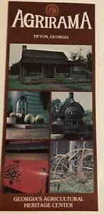 Vintage Agrirama Brochure Tifton Georgia