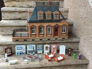 PLAYMOBIL 5300 vintage maison 1900 meublée à compléter ou pour pièces
