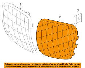 Pontiac GM OEM 06-09 Solstice-Grille Left 15909805