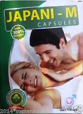 JAPANI M Capsule for SEX ENHANCEMENT pleasure virtility strength stamina in MEN