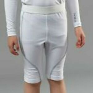 TWO PAIRS Kids NGOI Baselayer Shorts underpants White age 2 - 10 years