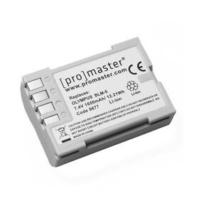 PromasterBLM-5 XtraPower Lithium Ion Replacement Battery for Olympus
