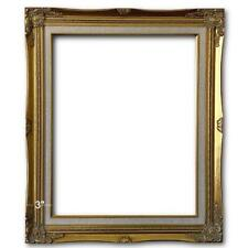 """3"""" Gold Leaf Wood Antique Picture Frame photo art wedding gallery 24x30 637GL"""