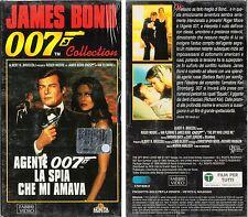 007 LA SPIA CHE MI AMAVA (1977) VHS PACKAGE1996 ORGINALE NUOVA SIGILLATA