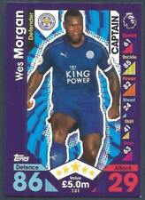 TOPPS MATCH ATTAX 2016-17- #131-LEICESTER CITY-WES MORGAN-CAPTAIN