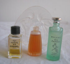 Lot of perfume minatures Lalique Ondiness dancing Nymph, Chanel No 5, Bulgar