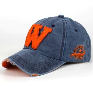 Cap Men/Women Sunshade Letter W Outdoor Baseball Cap Outdoor Sport Casual Hat