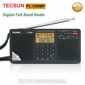 TECSUN PL-398MP Radio FM Stereo/Shortwave/MW/AM/LW DSP World Band MP3 Receiver