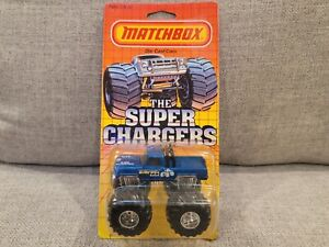 MATCHBOX THE SUPER CHARGERS SERIES BIGFOOT SC1 ON CARD