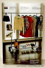 SEVILLE COLLAPSIBLE ADJUSTABLE GARMENT RACK WITH STORAGE SHELF BRAND NEW SYDNEY