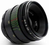 ⭐MINT⭐ Virtually NEW! HELIOS 44-2 58mm f/2 USSR Lens M42 Canon EOS Sony A7