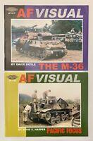 AF Visual The M-36 Pacific Focus WWII Tanks Guns Rifles War Allies Pacific Axis