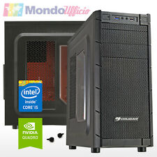 PC WORKSTATION Intel i5 7500 3,40 Ghz - Ram 16 GB - SSD - HD 1 TB - Quadro M2000