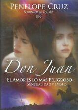 DON JUAN(1998) El Amor Es Lo Mas Peligroso[Penelope Cruz, NEW
