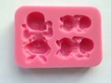 Silicone 3 Baby Mould - Great for New Baby Shower/Christening Cupcake Toppers