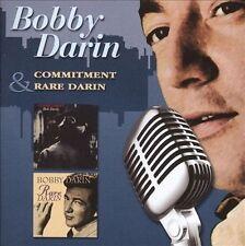 Commitment/Rare Darin- Bobby Darin (CD, Sep-2007, Edsel (UK))OOP!