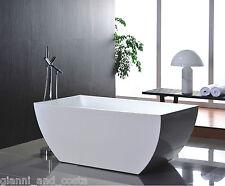"""Bathroom Acrylic Free Standing Bath Tub """"Thin Edge"""" 1500x750x600 - FREESTANDING"""