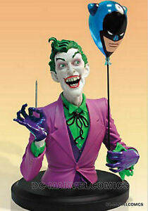 DC DIRECT FACTORY NEW!! The JOKER CLASSIC BUST MIB STATUE From BATMAN Figurine