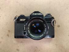 Canon EF SLR Film Camera Body + FD 50mm 1:1.4 Lens