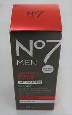 No7 Men Protect & Perfect Intense ADVANCED Serum - 30ml - BNIB New