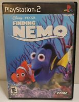 Finding Nemo PS2 Disney Pixar CIB Manual Playstation 2 Game Complete