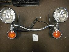 HARLEY DAVIDSON Touring Spotlight Kit, Passing Lamp Kit w/Bezels TURN SIGNALS FL