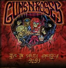 GUNS N' ROSES LIVE IN SOUTH AMERICA 91-93 COFANETTO 5 CD NUOVO SIGILLATO