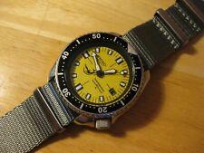 Raro VINTAGE SEIKO Doxa Delfín Dial Automático para Hombre Divers Watch Modelo 7002-700A