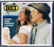 883 MAX PEZZALI LA LUNGA ESTATE CALDISSIMA CD SINGOLO SINGLE cds SIGILLATO!!!
