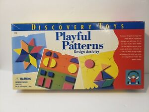 Discovery Toys 1996 Playful Patterns Design Activity Play Learning Game 2930