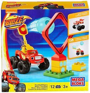 Mega Bloks Monster Machine Truckball Blaze Building & Construction Playset NEW
