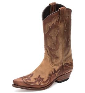 Ref: 11111 Sendra boots western marron choco/brun