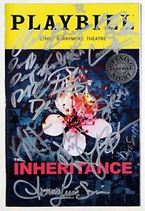 THE INHERITANCE Full Cast John Benjamin Hickey Signed Opening Night Playbill