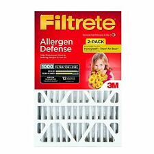 3M Filtrete 16x25x1 Micro Allergen Reduction MPR1000 Air Filter (2 Pack)