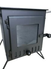 Outbacker® Firebox Vista- Large Window - Portable Wood Burning Stove - Free Bag