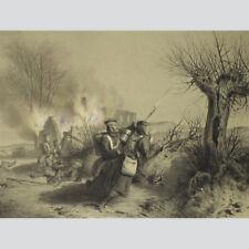 Scenen aus dem Kriegsleben in Schleswig. Düppel, 1864
