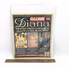 GLOBE Vintage Magazine - September 23, 1997 - PRINCESS DIANA Commemorative Issue