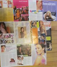 Mandy Moore, Lot of Seven Full, Two and Three Page Clippings, This Is Us