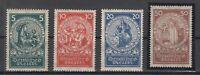 X2129/ GERMANY REICH – MI # 351 / 354 COMPLETE MINT MNH – CV 180 $