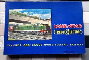 Vintage Lone Star 000 Gauge Model Electric Railway Passenger Train set mint 1960