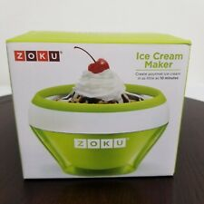 Zoku Ice Cream Maker Gelato Sorbet Sherbert Green In As Little As 10 Minutes