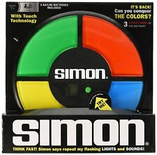 Electronic SIMON Large Classic FULL SIZE memory light sound says game BOX Basic