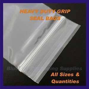 Reclosable Clear Plastic Zip Bags Thick Strong by DiRoseResealable Food