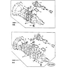 Isuzu Piazza Turbo/Impulse/JR-120/pick-up Truck/4ZC1-T Gearbox Gasket Kit Manual