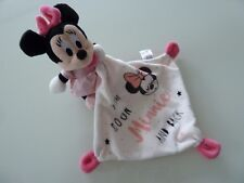 B6- DOUDOU PLAT MOUCHOIR DISNEY SIMBA MINNIE TO THE MOON AND BACK - EXCELL ETAT