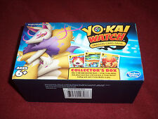 Yo-Kai Watch Trading Card Game Kyubi Collector's Box w/ 4 unopened packs & medal