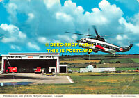 L069651 Cornwall. Penzance Link Isles of Scilly Heliport. Penzance. John Hinde.